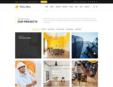 Homepage 19 – Projects Tiles